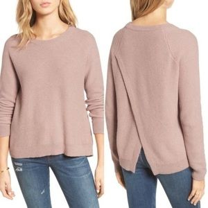 Madewell Province Cross-Back Pullover Sweater xs